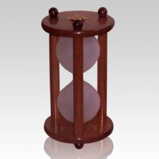 Hourglass Cherry Pet Urn