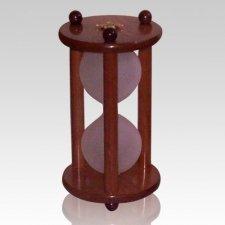 Hourglass Cherry Keepsake Urn