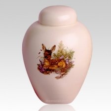 Children Fawn Meadow Cremation Urn