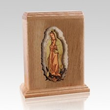 Lady of Guadalupe Child Cremation Urn