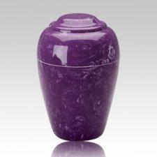 Grecian Amethyst Infant Cremation Urn