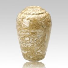 Grecian Neptune Marble Cremation Urn