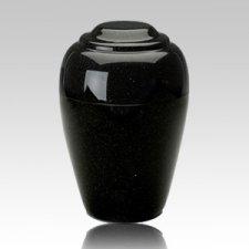 Grecian Orca Black Infant Cremation Urn