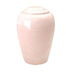 Grecian Pink Marble Cremation Urn