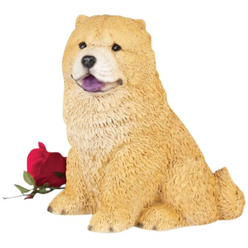Chow Dog Cremation Urn