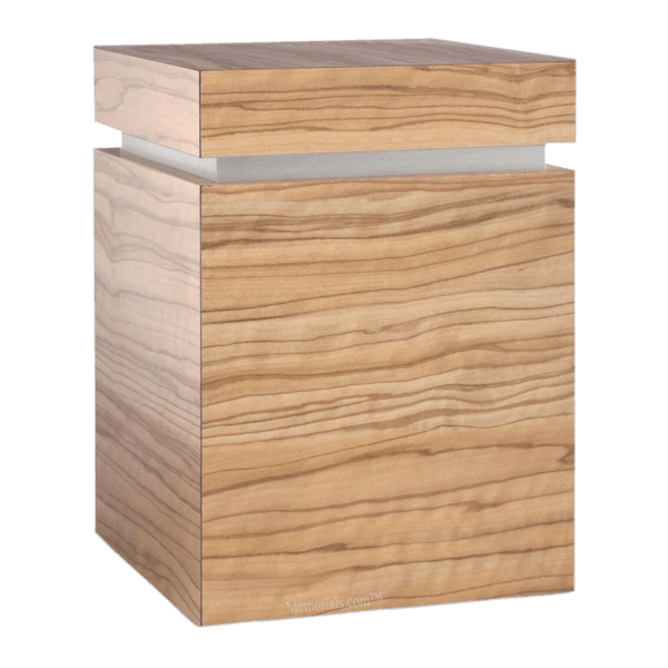 Clarity Olive Cremation Urn
