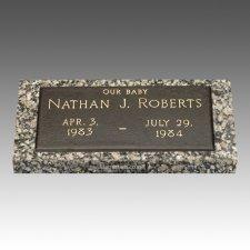 Children Bronze Grave Marker