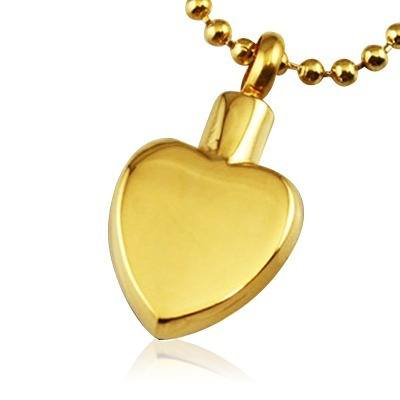 Classic Heart Cremation Jewelry II