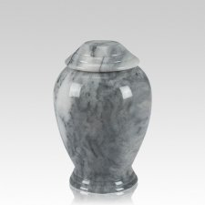 Grey Classica Marble Medium Cremation Urn