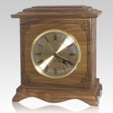 Renaissance Walnut Clock Urn