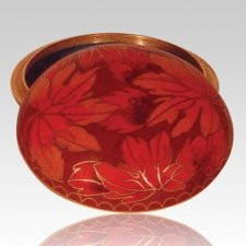 Fall Leaf Keepsake Memento Box