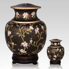 Tivoli Gardens Cloisonne Cremation Urns