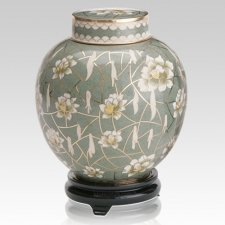 Pear Blossom Companion Cremation Urn