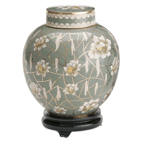 Pear Blossom Cremation Urn For Two