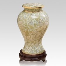 Morning Mist Cloisonne Urn