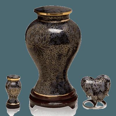 Evening Shadows Cloisonne Cremation Urns