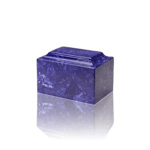 Cobalt Marble Keepsake Urn