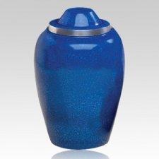Glacier Blue Cremation Urn