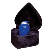 Glacier Blue Keepsake Urn