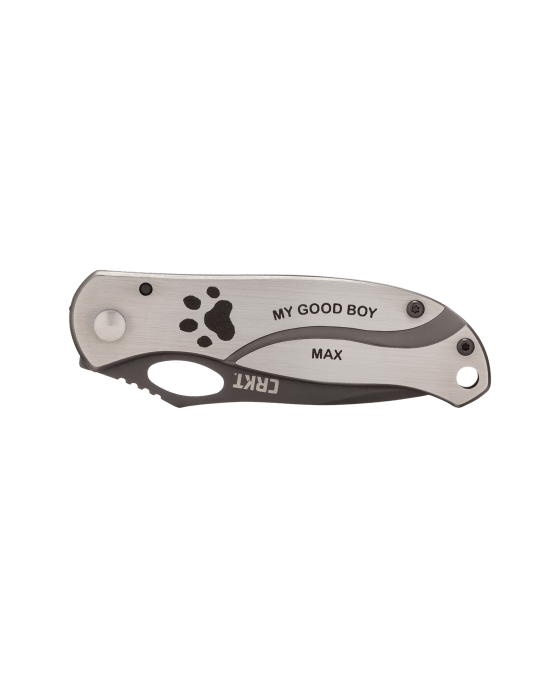 Columbia Knife Paw Print Print Keepsake II