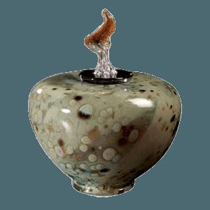 Como Grenalias Glass Cremation Urn
