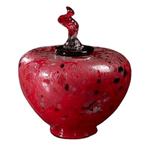 Como Temples Glass Cremation Urn