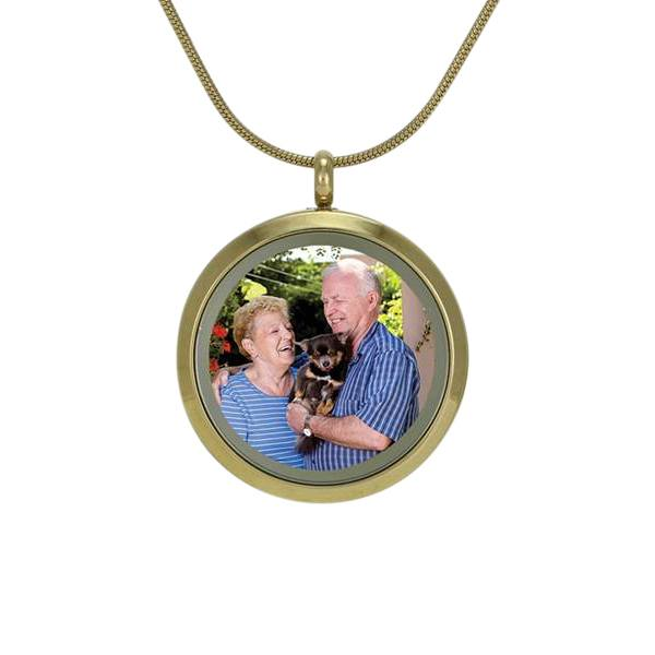 Companion Photo Cremation Pendant