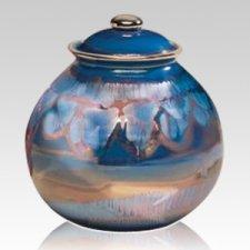 Galaxy Ceramic Cremation Urn