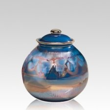 Galaxy Ceramic Small Cremation Urn