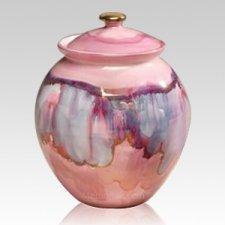 Celestial Ceramic Cremation Urn