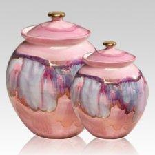 Celestial Ceramic Cremation Urns