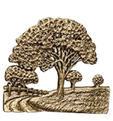 Country Road Medallion Applique