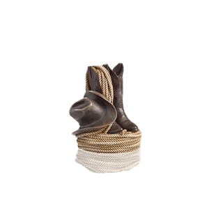 Last Rodeo Small Cremation Urn