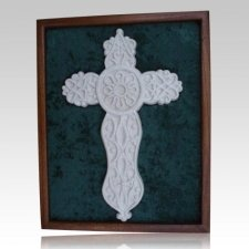 Cross Cremation Ash Keepsake with Case