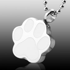 Innocence Paw Print Cremation Jewelry