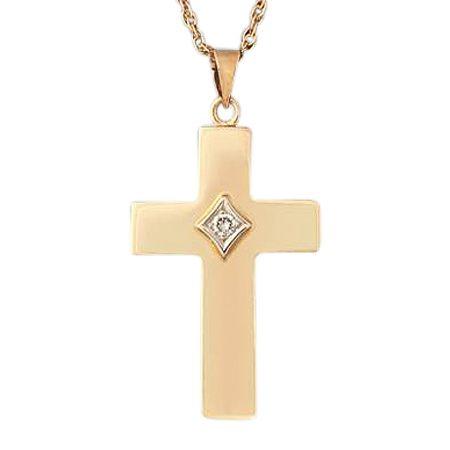 Dignity Diamond Cross Keepsake Jewelry II