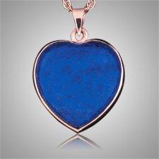 Lapis Lazuli Heart Keepsake Jewelry