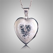 Heart Locket Cremation Keepsake