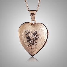 Heart Locket Cremation Keepsake II