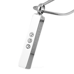 Stainless Classic Cremation Jewelry
