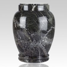 Green Marble Medium Cremation Urn