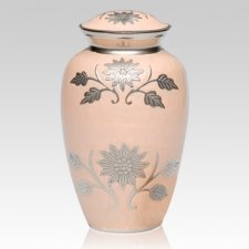Peace Flower Cremation Urn