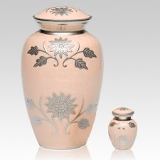 Peace Flower Cremation Urns
