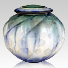 Green Sea Children Cremation Urn