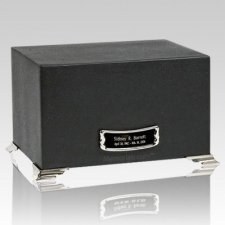 Ebony Slate Rectangle Cremation Urns