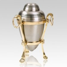 Platinum with Stand Cremation Urns
