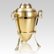 Bronze Urn with Stand Cremation Urns