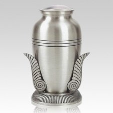 Platinum Leaf Cremation Urns