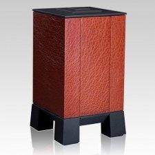 Orange & Orange Modern Cremation Urn