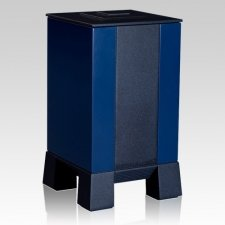 Blue & Black Modern Cremation Urns